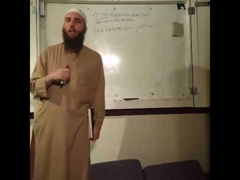 200 Frågor Om Islamiska Trosläran | del 6 | Abdullah as-Sueidi