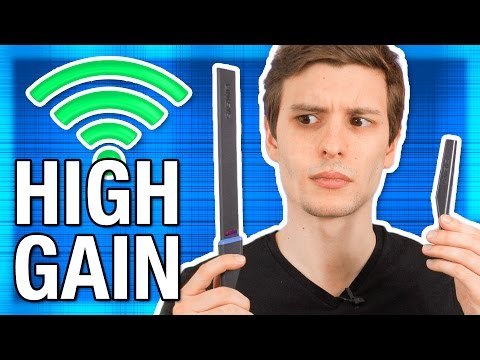 """What Are """"High Gain"""" Router Antennas? Can They Increase WiFi Range?"""