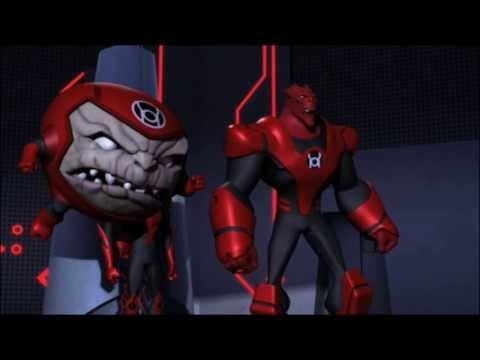 Enter the Red Lantern Corp
