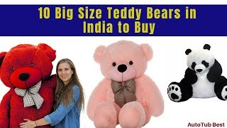Best Selling Soft Big Size Teddy Bears in India 2021 Updated List