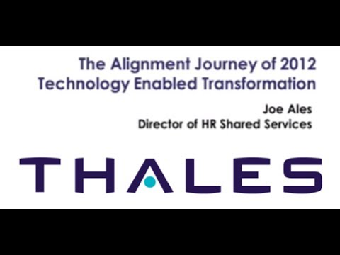 Joe Ales, HR Director of Shared Services, Thales Group
