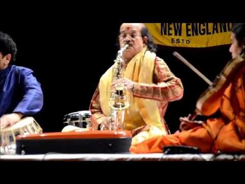 UK Carnatic Music Concert - Saxophone by Kadri Gopalnath