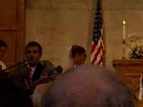 2007-10-27b Wedding of Sarah & Adam Paré