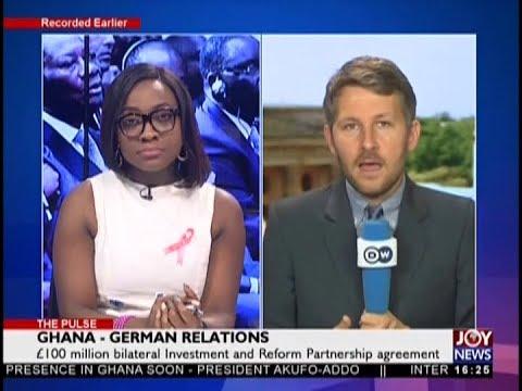 Ghana – German Relations - The Pulse on JoyNews (31-10-18)