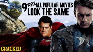9 Ways All Popular Movies Look The Same