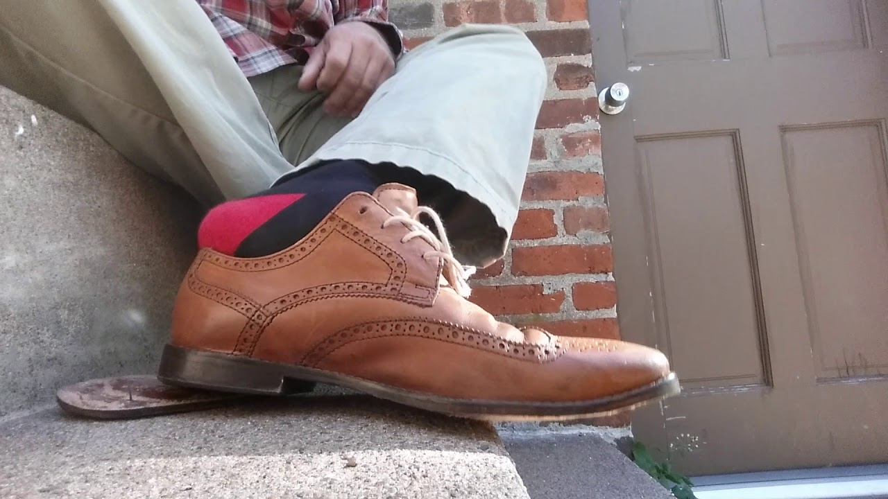 Cole Haan Leather Wingtip Dress Shoes