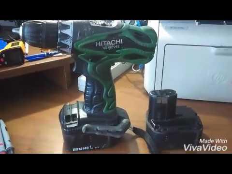 Переделка аккумулятора шуруповерта HITACHI 14.4 В на литий!