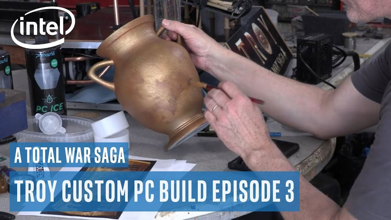 A Total War Saga: Troy Custom PC Build Ep 3 | Intel Gaming