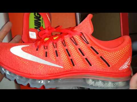 2016 NIKE AIR MAX UNBOXING AND REVIEW