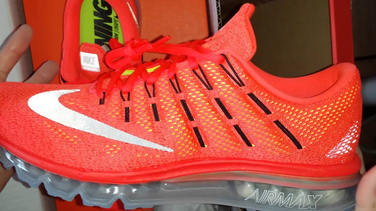 nike air max running shoes 2016 review images