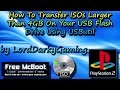 How To Transfer ISOs Larger Than 4GB On Your USB Flash Drive Using USButil - TUTORIAL