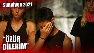 Batuhan'ın Çantasında İçecek Bulundu!   Survivor 2021