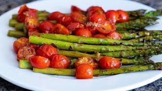 Sautéed Asparagus With Chęrry Tomatoes