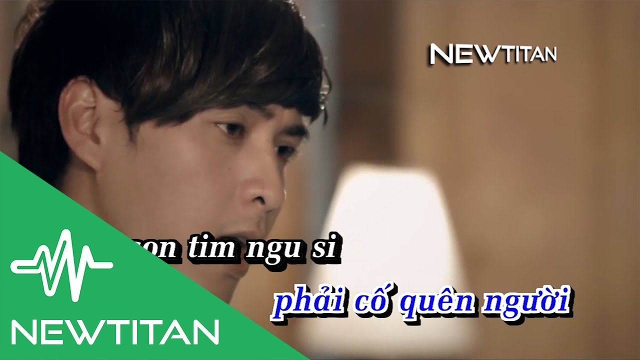 [Karaoke] Con Tim Đang Cố Quên - Hồ Quang Hiếu [Beat]