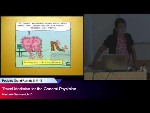 """Travel Medicine for the General Physician,"" Madhavi Gavirneni, M.D."