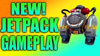 FORTNITE JETPACK GAMEPLAY! New Jetpack in Fortnite! How to Get the Jetpack in Fortnite - Daryus P