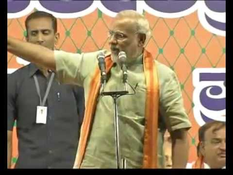 Shri Modi urges people of Bangalore to vote for the BJP in a huge Public Meeting