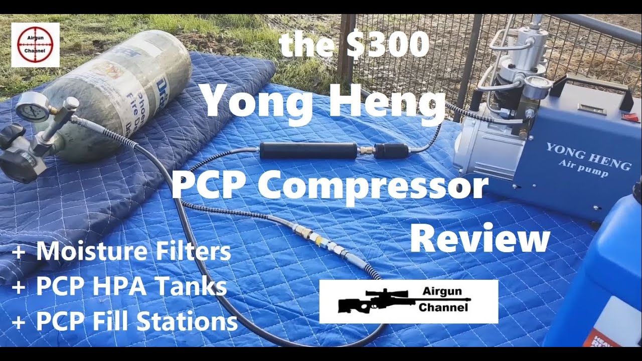 Yong Heng PCP Compressor Review (Affordable PCP) + PCP Tank & PCP Pump Setup