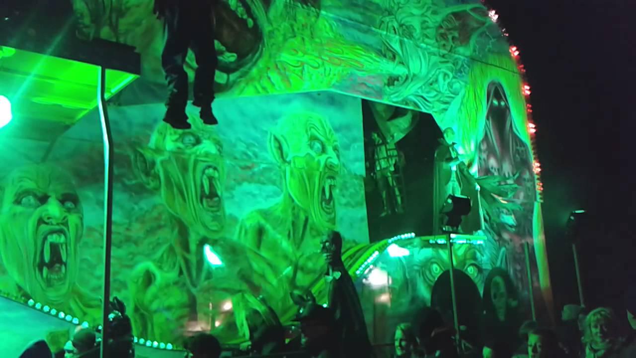 Ghost Train Southport Bonfire Night 2014 Youtube