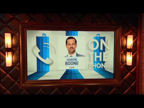 ESPN MLB Analyst Aaron Boone on Derek Jeter's New Movie & More - 10/3/17