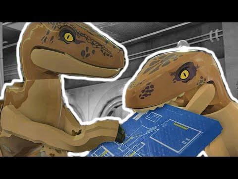 Лего Парк Юрского Периода 16.Голодные Динозавры.Jurassic World.#Lego