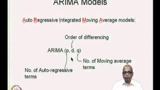 Mod-04 Lec-15 ARIMA Models-II