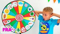 Vlad et les enfants racontent l'histoire de Magic Wheel