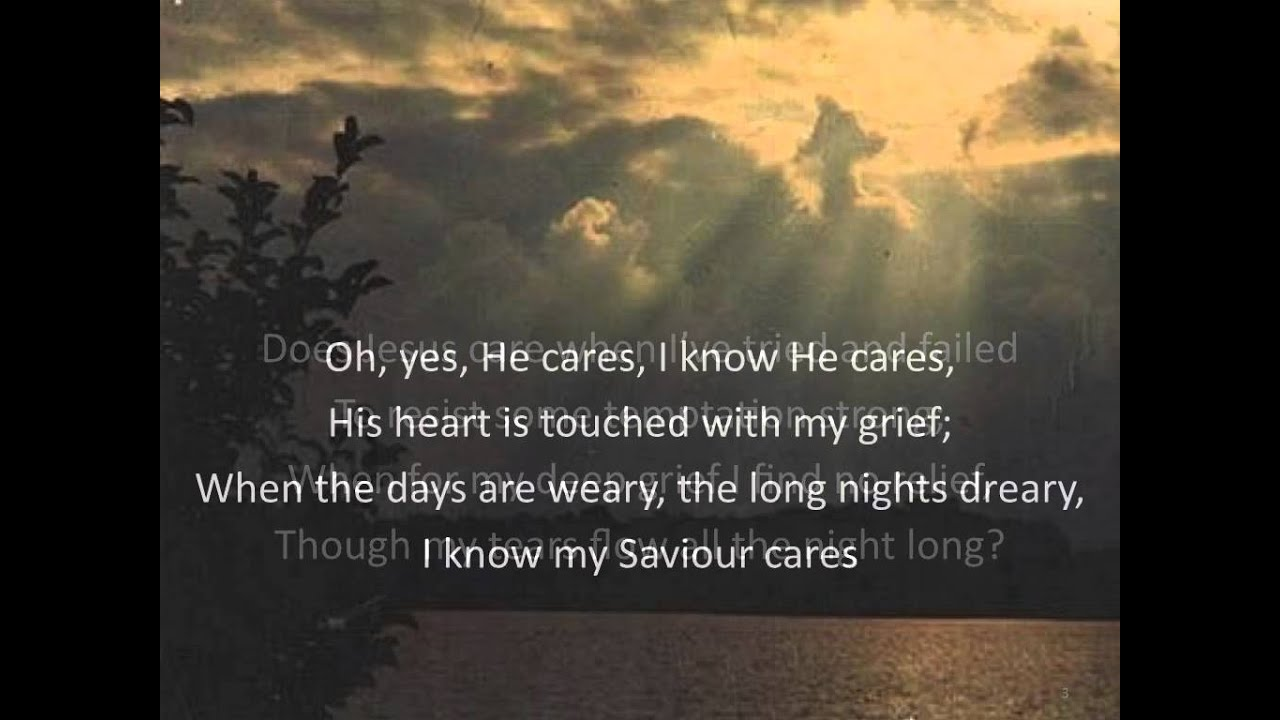 God Is Aware, and He Cares
