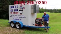 Small Refrigerated Trailer Rental - YouTube