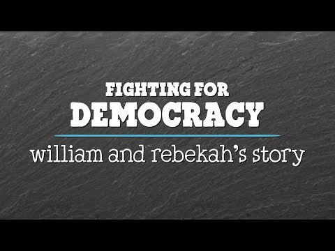 Reverend Barber & His Daughter Rebekah Fight For A Fair Democracy