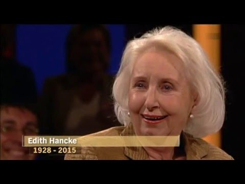 Erinnerungen an die Schauspielerin Edith Hancke 2015