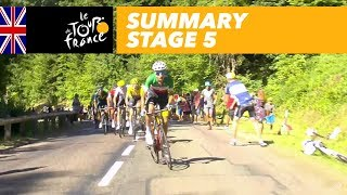 Summary - Stage 5 - Tour de France 2017