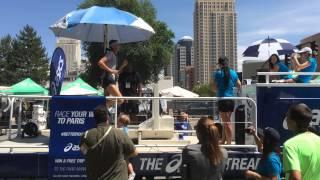 Outdoor Retailer 2014 Asics Treadmill Challenge
