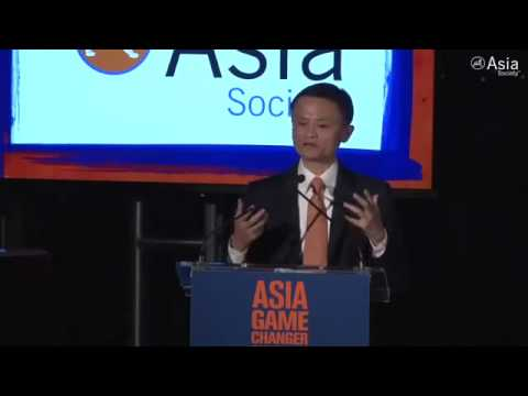 Jack Ma's  Inspiring Speech