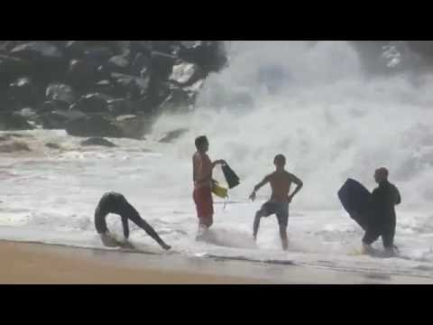 The Wedge   August 20th   2016 (RAW FOOTAGE)