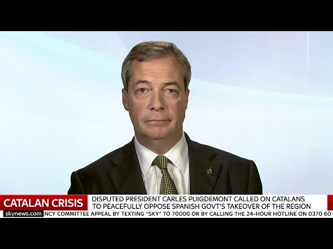 Nigel Farage on the Catalan Crisis and Michael Gove's joke - 29th October 2017