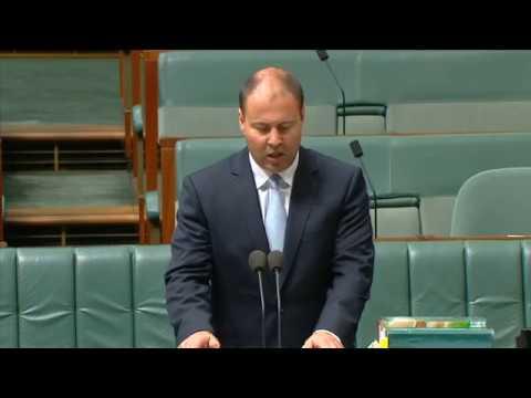 Second reading speech for Great Barrier Reef Marine Park Amendment Bill 2017 (13 February 2018)