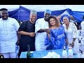Popular Actresses & Big Men Storms At Dayo Amusa Dad Burial Ceremony