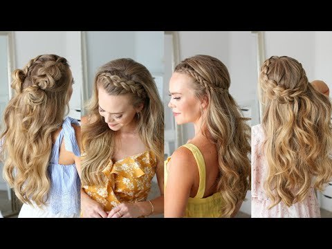 5 Half Up Dutch Braid Hairstyles | Missy Sue