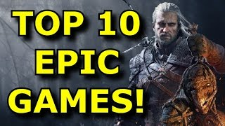 TOP 10 Biggest And BEST Open World Games!