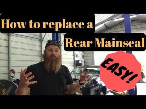 How To Replace A Rear Main Seal - Without Removing Trans Or Engine!