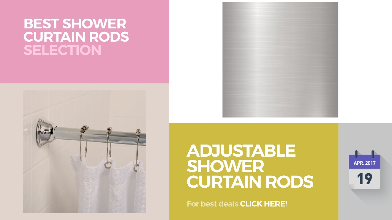 Clear sash curtain rods - Adjustable Shower Curtain Rods Best Shower Curtain Rods Selection