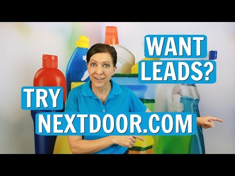 Nextdoor To Get More House Cleaning Leads ⭐⭐⭐⭐⭐