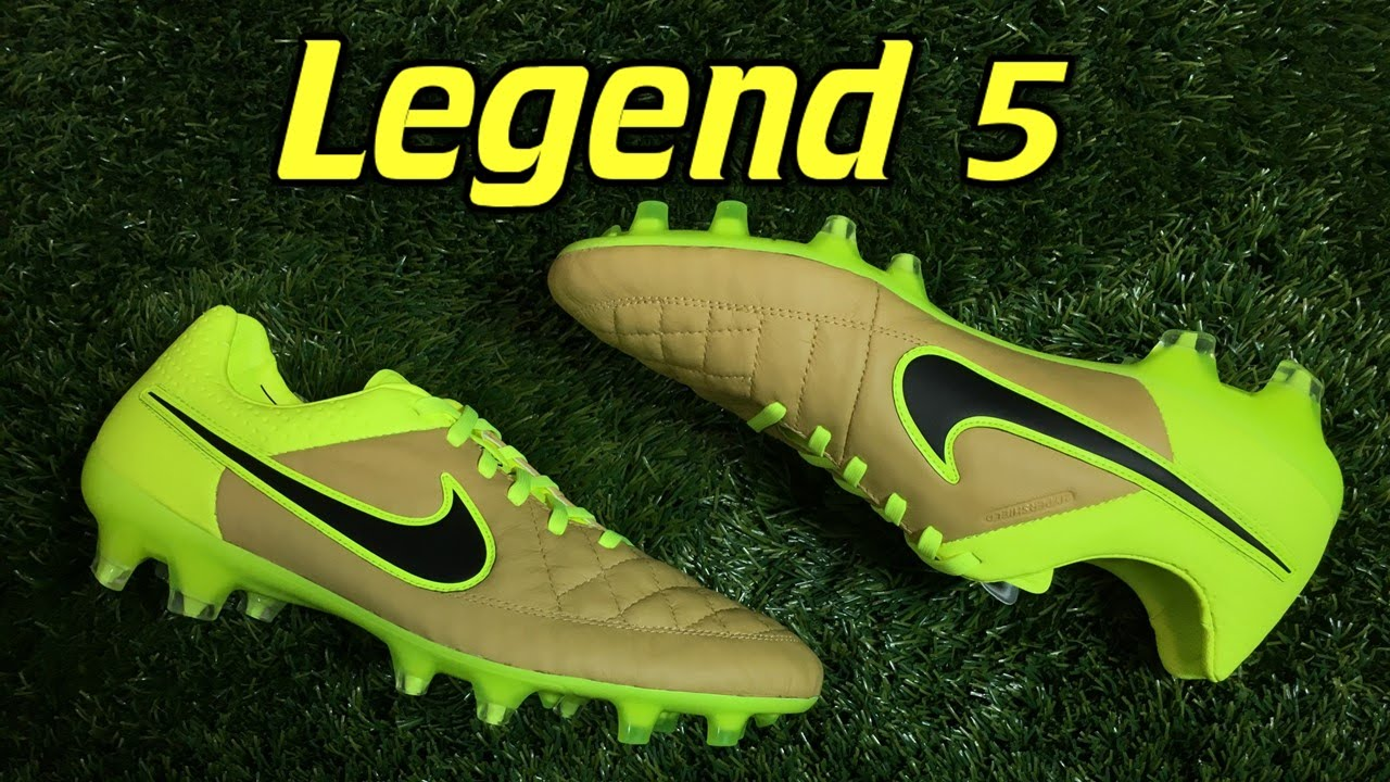 Nike Tiempo Legend 5 Tech Craft Canvas/Volt - Review + On Feet