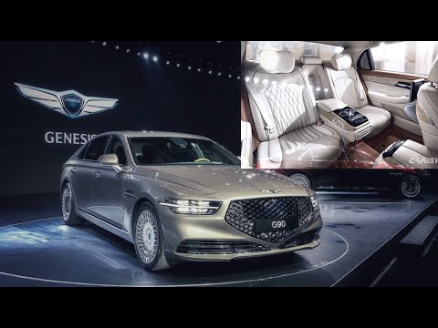 The new Genesis G90 | The most luxurious Korean flagship sedan | Interior & Exterior