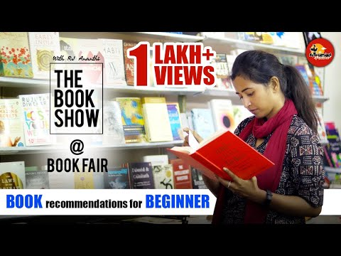 Book Recommendations for Beginners | The Book Show ft. RJ Ananthi @ Book Fair |Suthanthira Paravai