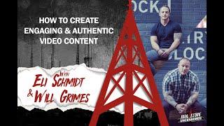 كيفية إنشاء الانخراط & أصيلة محتوى الفيديو w/ايلي شميت و سوف غرايمز