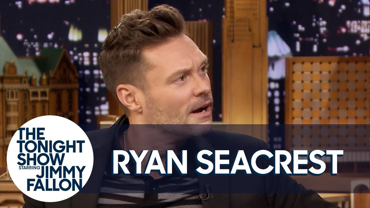 Ryan Seacrest Proudly Wears His Girlfriend's Clothes