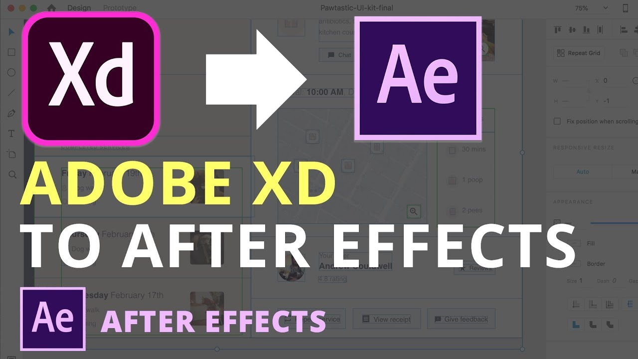 How to export your Adobe XD file to After Effects