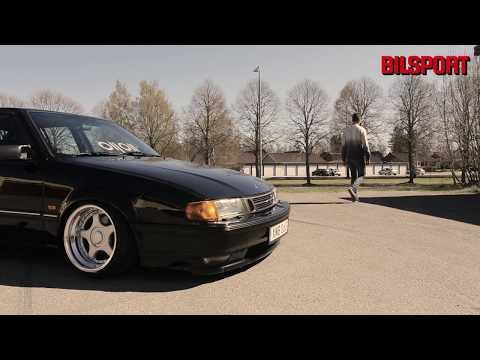 Saab 9000 stance! (I Bilsport 12/2017)